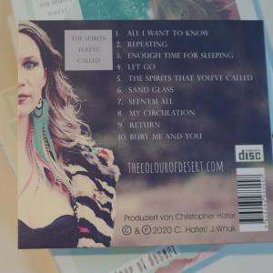 Rückseite singer songwriter CD