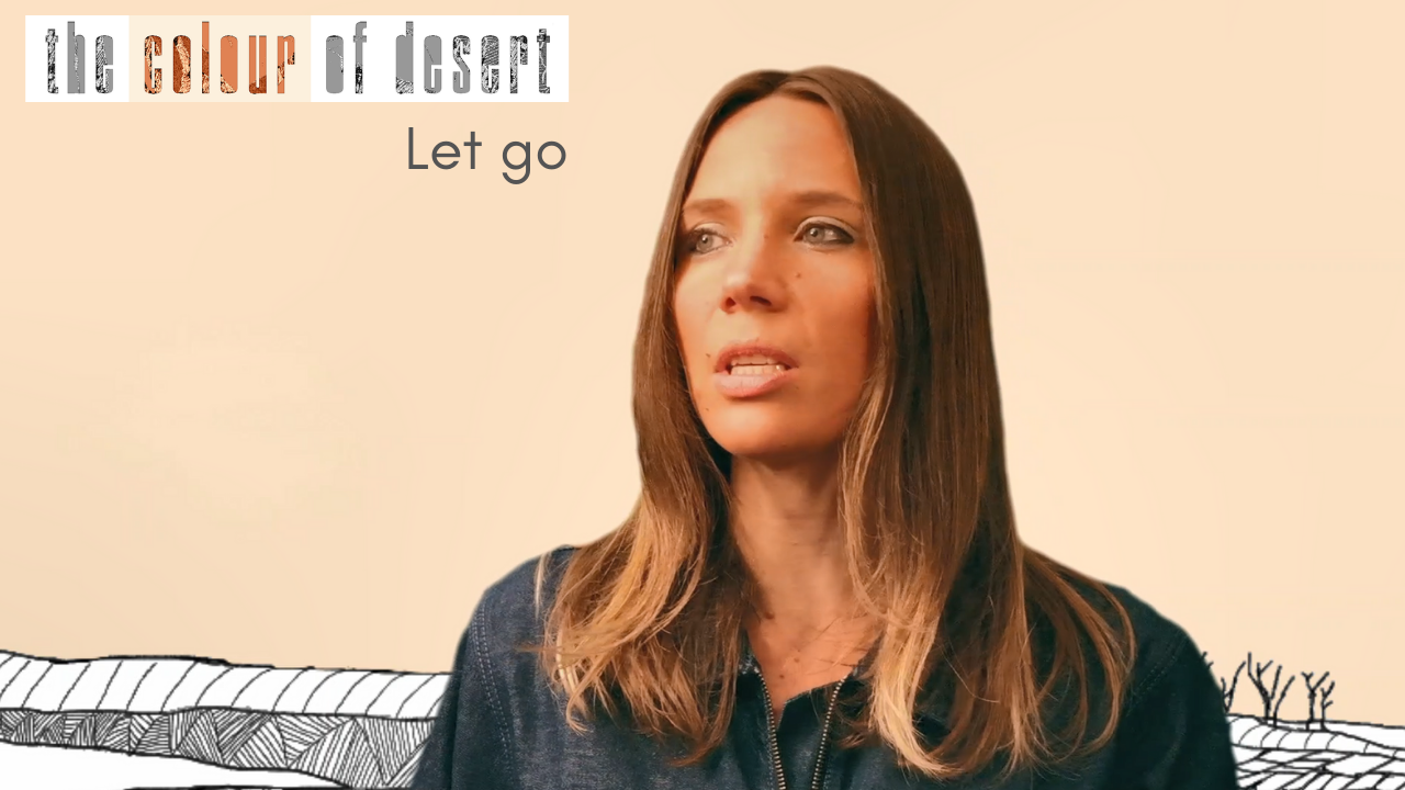 new single relase let go the colour of desert